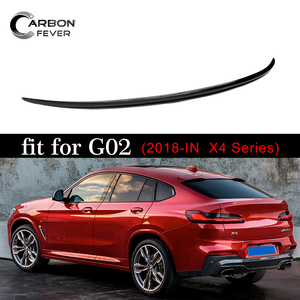 For BMW G02 X4 Spoiler M Style Carbon Fibre Car Rear Wing Spoiler For BMW X4 Spoiler 2018+For BMW G02 X4 Spoiler M Style Carbon Fibre Car Rear Wing Spoiler For BMW X4 Spoiler 2018+