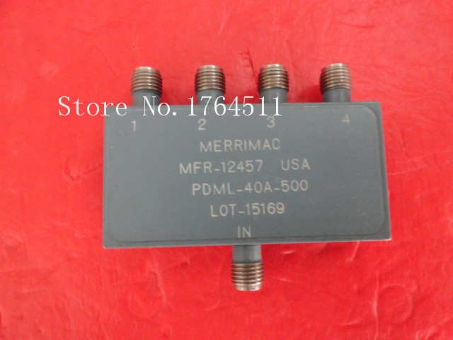 [BELLA] MERRIMAC PDML-40A-500 20-1000MHz A Four Supply Divider SMA