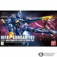 OHS Bandai HGUC 168 1/144 F91 Harrison's Gundam F91 Mobile Suit Assembly Model Kits
