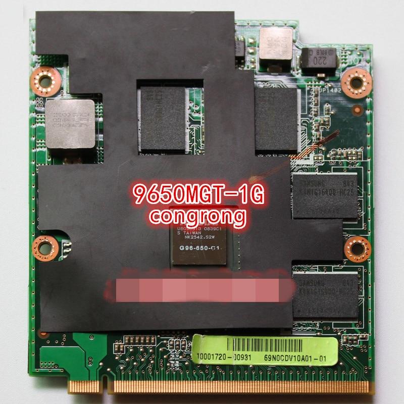 9650M GT G96-650-C1 1024MB MXM-II Vga Card For ASUS M50 M50V M70 M70V M50 M50VM M50VM M50VN M70VM