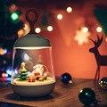 Santa Claus nacht lichter USB aufgeladen LED weihnachten lampe nacht lampe freies verschiffen 16-in LED-Nachtlichter aus Licht & Beleuchtung bei