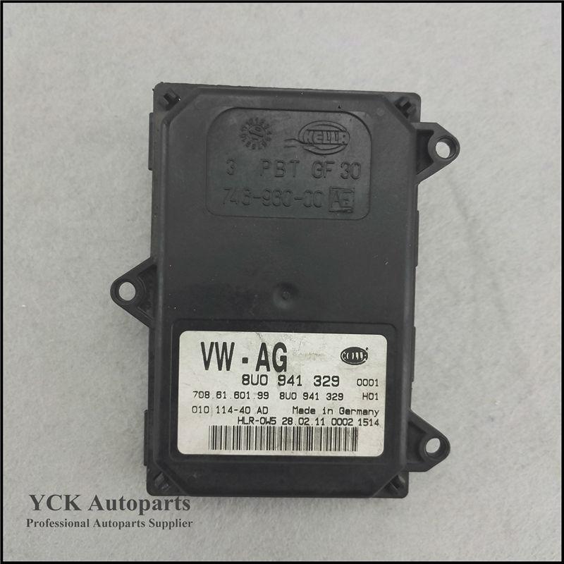 1PC Original AFS Leistungsmodul Adaptive Frontlighting System 8U0 941 329 8U0941329 708.61.601.99   (Genuine and Used) 1pc original afs leistungs module 3td941329 3td 941 329 genuine and used