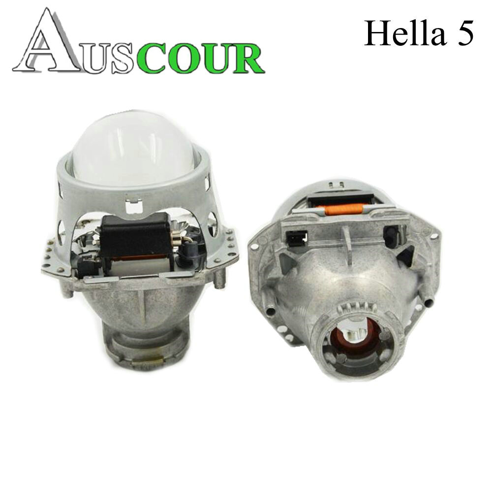 2pcs 3.0 inch hella 5 car Bi xenon Bixenon hid Projector lens metal holderD1S D2S D3S D4S hid xenon kit headlight car headlight
