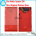 For Nokia Lumia 720 New Mobile Phone original back housing cover case battery door cover+Side Button free shipping!