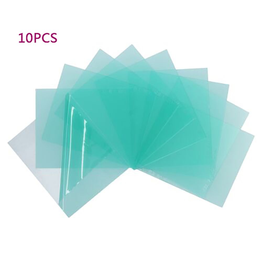 10Pcs Solar Automatic Photoelectric Welding Mask PC Sheet Protection Sheet New