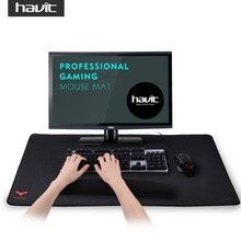 HAVIT Extended Waterproof Large Gaming Mouse Pad Computer Gamer Mousepad 3mm Thick Black Non-Slip Rubber Base 36″ X 16″ HV-MP855
