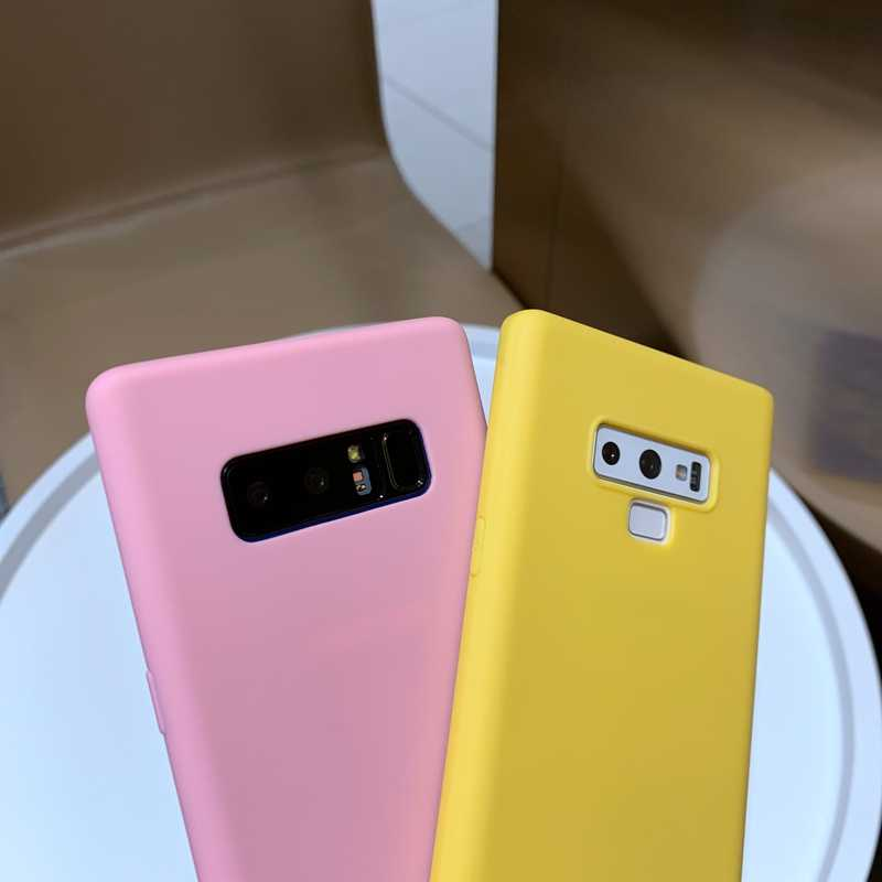 Color Full Soft TPU Silicone Case Cover For Samsung Galaxy S8 S9 S10 Plus S10e A10 A20 A30 A40 A50 A70 M10 M20 M30 A60 A2 Core