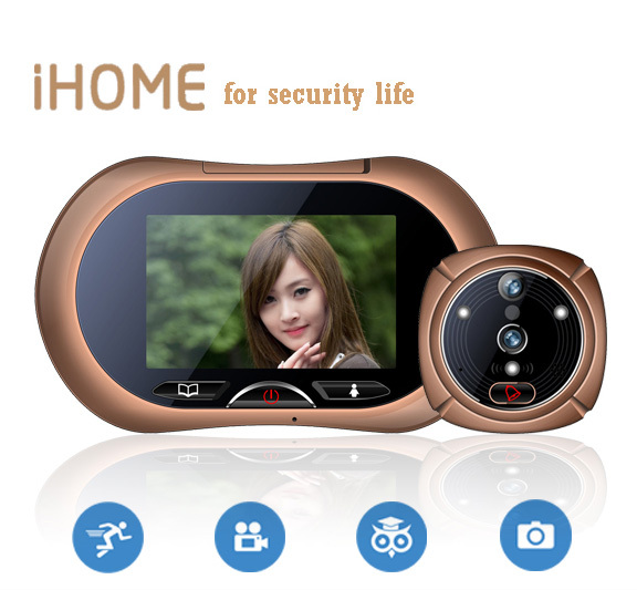 3.7 Motion detectin iHome Video Doorphone ,Anti-Burglary Alarm Video Doorphone ,Night Vision Door alarm the barrel burglary page 11