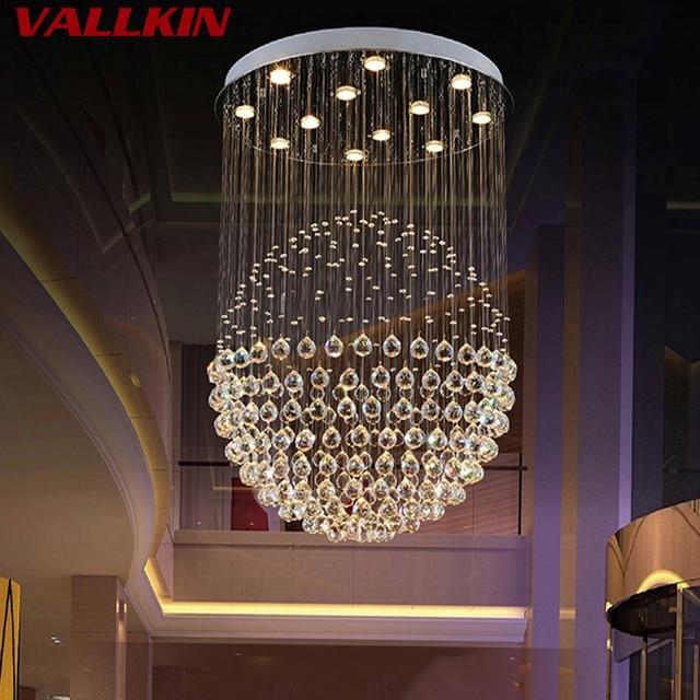 Kronleuchter Design led kristall kronleuchter lichter runde kugelstern luxus