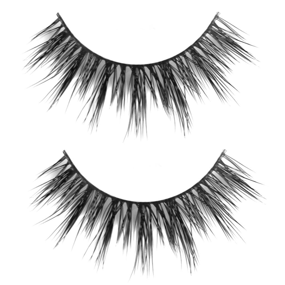 Yost 1 Pair Handmade Artificial Eyelashes Thick Eyes