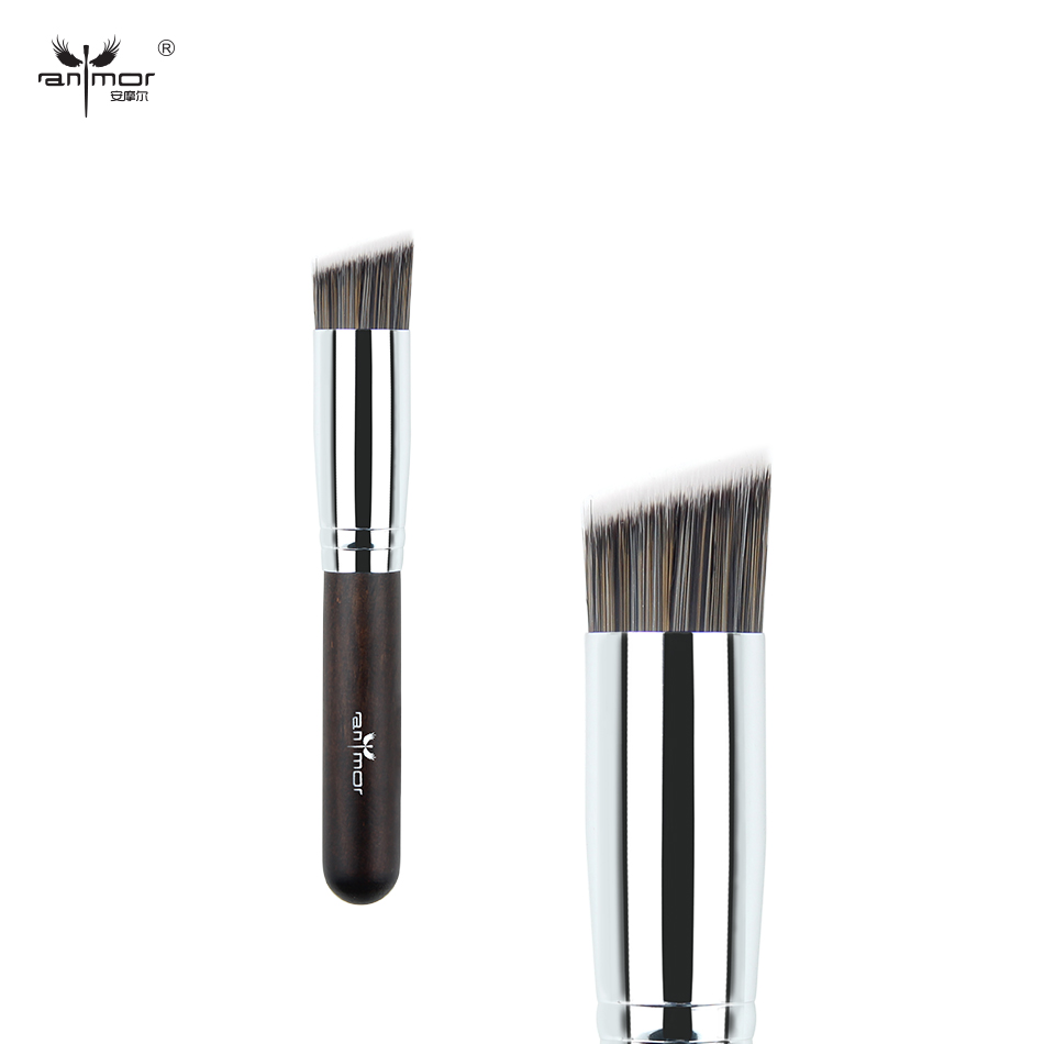 где купить Anmor Brand New Powder Brush Professional Makeup Brushes Synthetic Hair Concealer Make Up Brush дешево