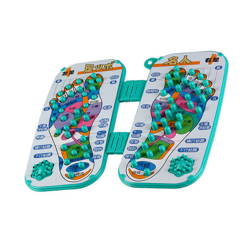 Foot Massage Pads Paddle Blanket Massage Massager Trigger Point Foot Acupoint Therapy Massage Stress Pain Relief шлёпалка asylum prescription pain paddle