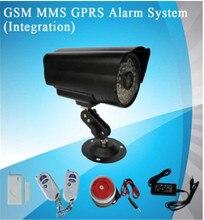 900/1800/1900 Mhz Sistema de Alarma Antirrobo GSM GPRS MMS Alarma Cámara