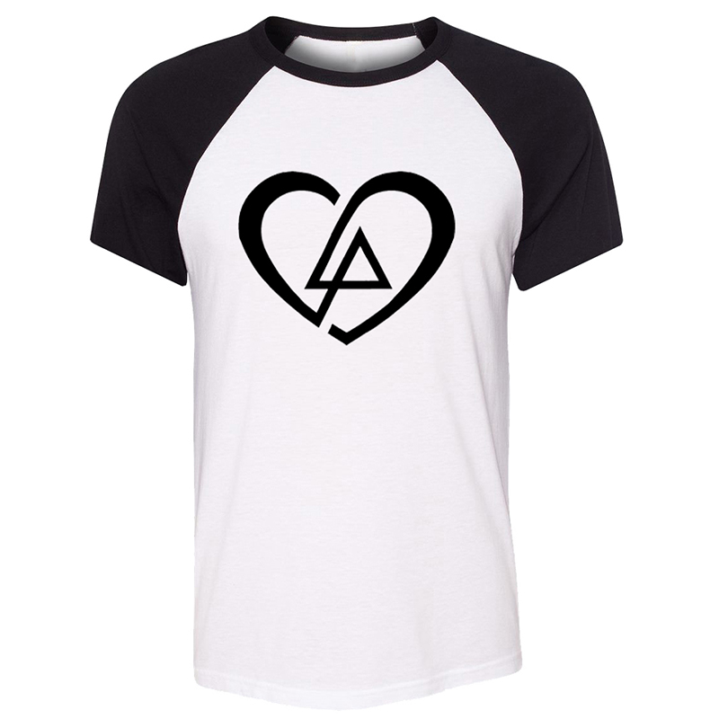 Funny Aquarius Virgo Pisces Symbol Linkin Park Heart White Design Chester Bennington Design Mens Printing T Shirt Graphic Tee