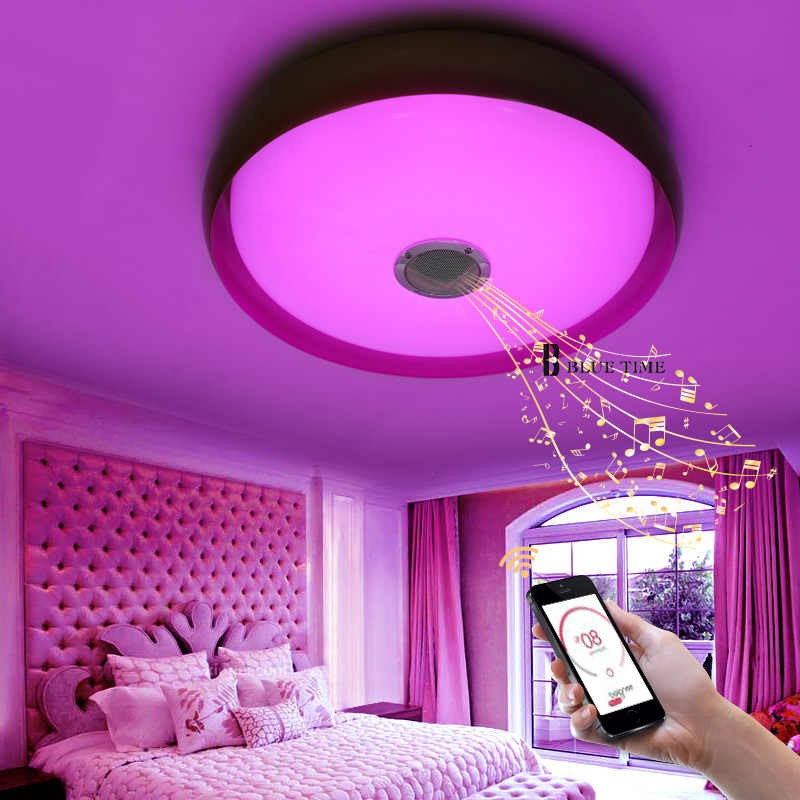 Intelligent multicolor App Control LED Chandelier With Music Player ...