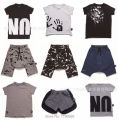 15 COLORS  KIDS 2017 NUNUNU SUMMER BABY BOY CLOTHES BABY GIRL CLOTHES KIDS PANTS T SHIRTS SHORTS BOBO CHOSE CLOTHING SETS VESTI