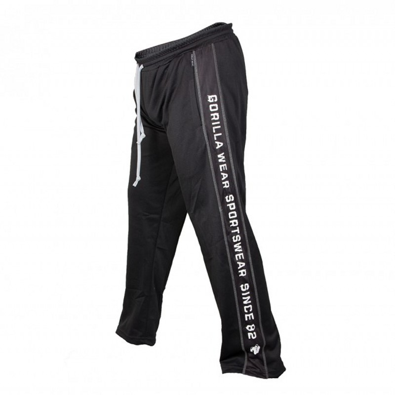 Straight Joggers Sweatpants Men's Fashion Casual Thin Pants Male Plus Size 3XL Loose Breathable Streetwear Trousers