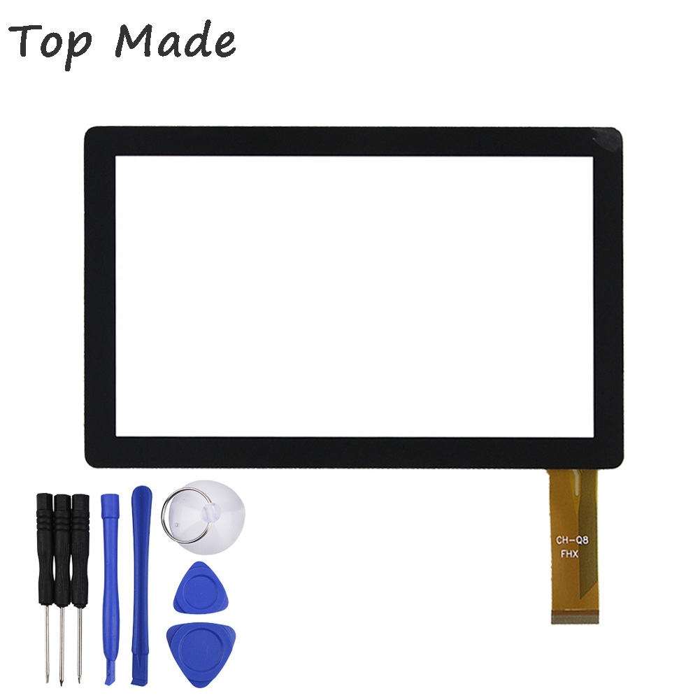 7'' Inch Touch Screen for ALLWINNER A13 Q8 Q88 CUBE Q7 Tablet PC Capacitive Digitizer Glass Replacement with Free Repair Tools original 7 inch allwinner a13 q88 zhc q8 057a tablet capacitive touch screen panel digitizer glass sensor free shipping