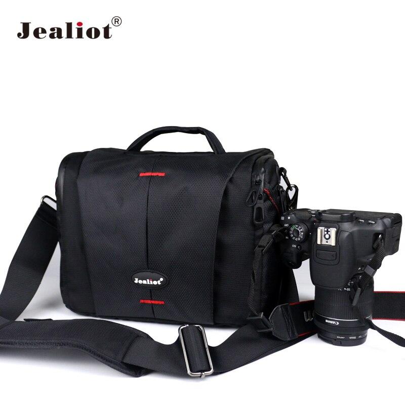 Jealiot DSLR Камера мешок полиэстер сумка Фото чехол для объектива для Canon Nikon <font><b>Olympus</b></font> Panasonic цифрового видео Камера