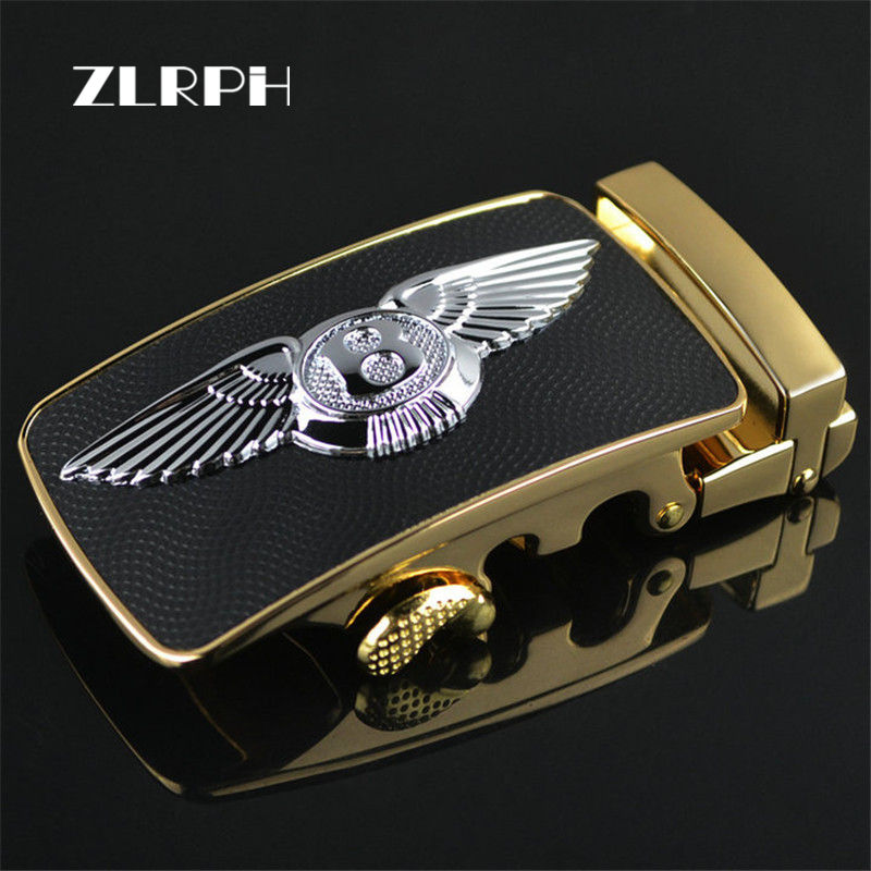 ZLRPH 2018  Automatic Belts Buckle For Men Without Body High Quality Alloy Designers Fashion Male Brand Luxury Wholesale Eagle