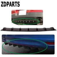 ZDPARTS Car Shark Fin 7 Wings Bumper Spoiler Stickers For Ford Focus 2 3 Fiesta Mondeo Kuga Kia Rio Ceed Sportage 2017
