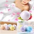 Color Random 1Pc New Essential Oil Bath Bombs Body Scrub Whitening Moisture Bath 40g Bubble Shower Bombs Bath Hot Sale