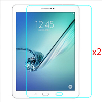 2 Pcs A Pack For Samsung Galaxy Tab S2 T800 T810 T815c Screen Protector Tempering Glass
