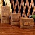 Men Wallets Crazy Horse Leather Vintage Design Purse Men Brand Famous Card holder Mens Wallet carteira masculina YS1305