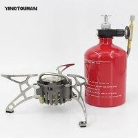 YINGTOUMAN Portable Oil&Gas Multi Fuel Stoves Outdoor Kerosene Stove Burners 1000ml Big Capacity Gasoline Stove