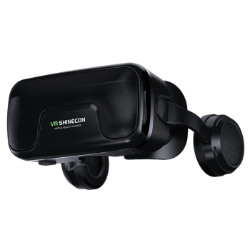 VR Shinecon 10.0 Helmet VR Virtual Reality 3D Glasses And Gaming Goggles For iPhone And Android