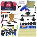 Набор инструментов PDR  безболезненный инструмент для ремонта вмятин  набор инструментов для удаления вмятин в кузове автомобиля  сумка для ...