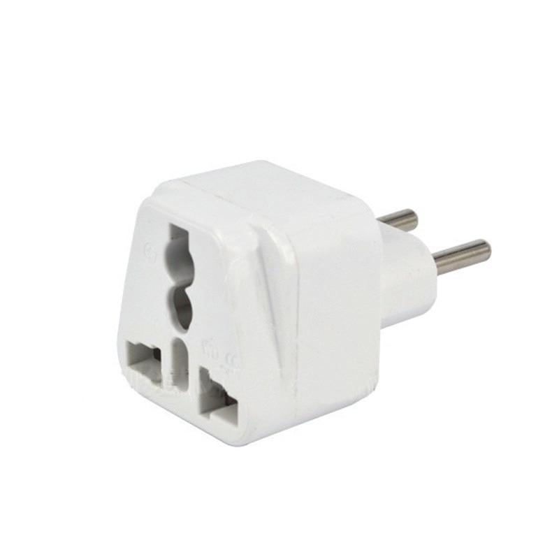 Universal AC 250V 10-16A AU US UK to 2 Round Pin EU Brazil Tavel Electrical Conversion Plug Adaptor Converter for Travel