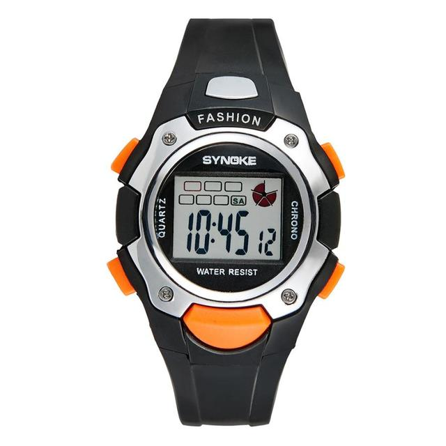 Moment # L04 2018 top brand Multi-Function 30M Waterproof children's Watch LED D