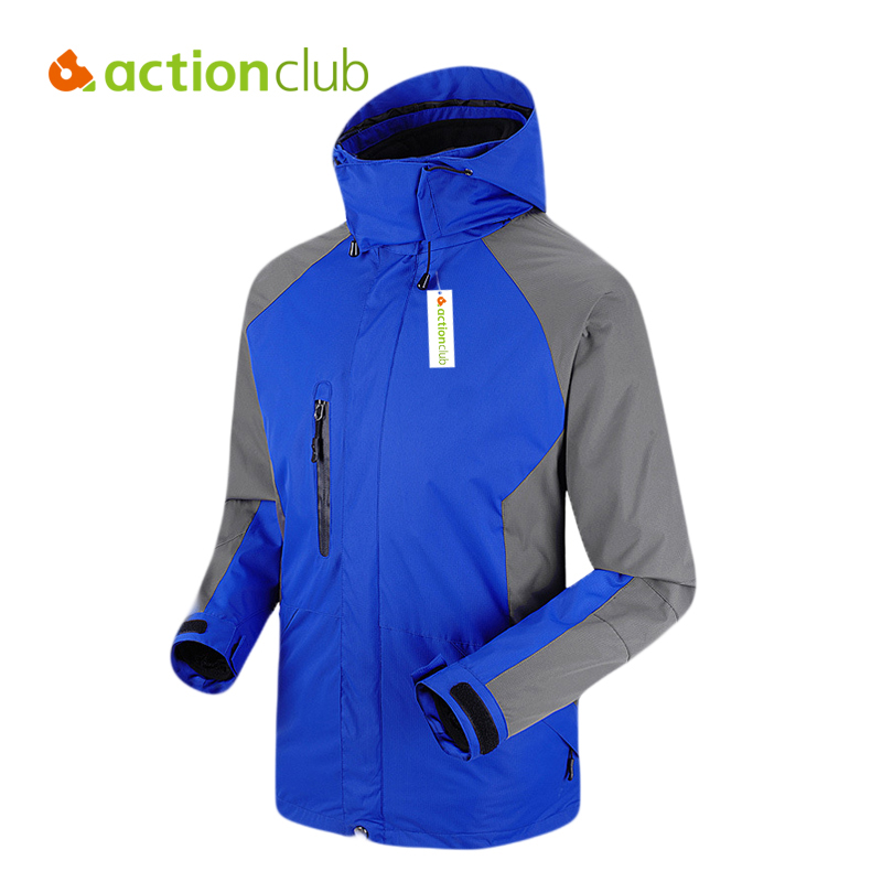 Actionclub Outdoor Jacket Men Fleece Liner Coat Outerwear Waterproof Windproof Hiking Jacket Fishing Sport Windbreaker SH353 наушники dialog ep 121v черный