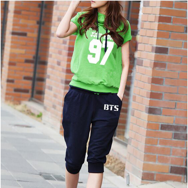 BTS Female Casual Pants