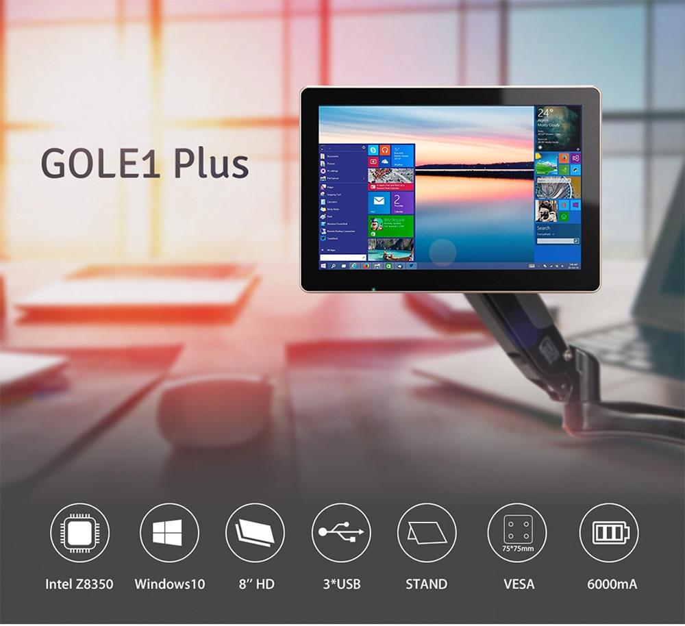 HIGOLE GOLE1 Plus Win Windows 10 Minipc Mini PC Intel Atom X5-Z8350 Quad Core 4G RAM 64G 128G Touch Screen Control Media Player higole gole1 plus mini pc intel atom x5 z8350 quad core win 10 4g ram 64gb rom touch control rechargeable built in battery