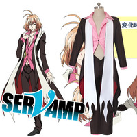 SERVAMP Snow Lily Uniforms Cosplay Costume Free Shipping