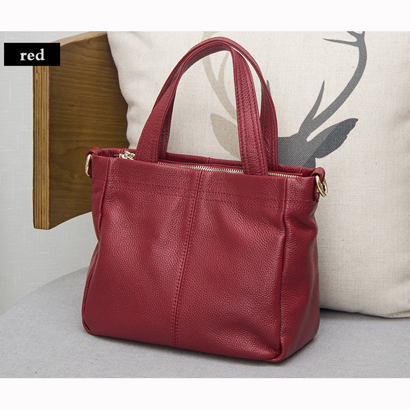 MEIGARDASS New Style Genuine leather handbag Messenger bag fashion simple Lady atmospheric shoulder Bag High Quality Zipper Bag top quality 2018 new bag lady shoulder bag