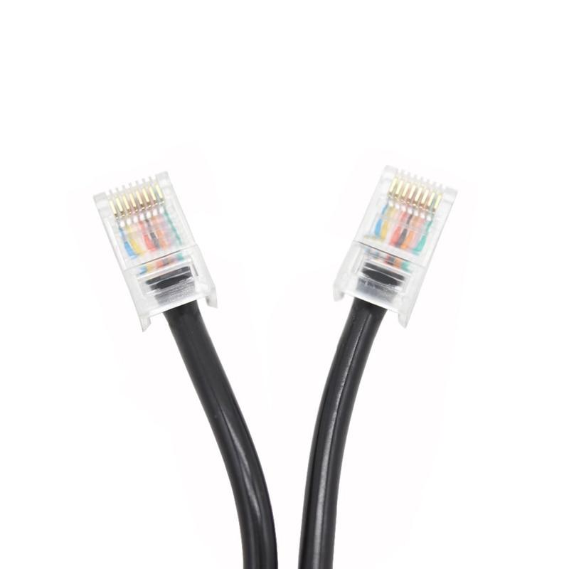 עגלות פג כבל כבל מיקרופון 8pin עבור אייקום נייד רדיו רמקול מיקרופון HM-98 HM-133 HM-133v HM-133s DTMF עבור IC-2200H IC-2800H / V8000 XQF (3)