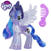 Hasbro action toy figures my little pony crystal series cartoon model princess girl toy holiday gift action figure 11cm