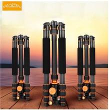 W822A sidelangboli Profissional portátil tripé De Alumínio para a câmera DV único luz tripode montar estande acessórios tripe