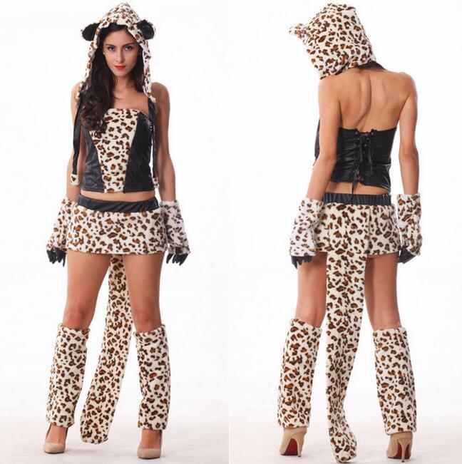 Disfraz Mujer, сексуальный милый женский костюм, сексуальный костюм леопарда тигра, Deguisement, косплей, женские костюмы, ночные клубы, DS, костюм CE298