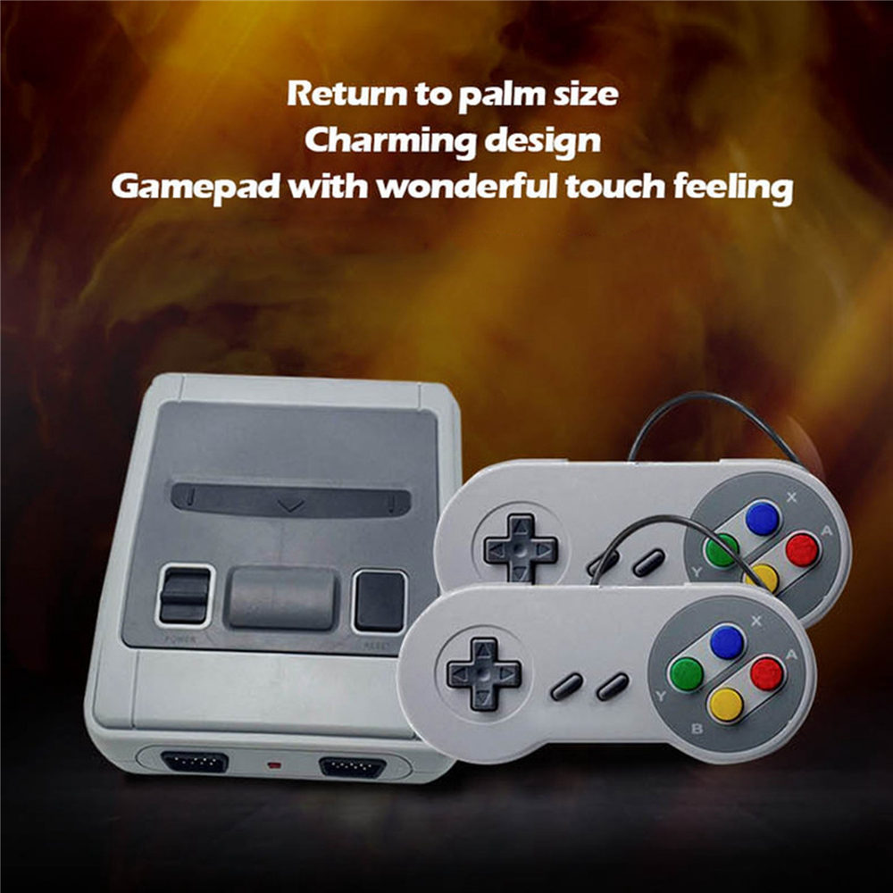 Replacement SNES Super NES Mini TV HDMI AV Video Game Console Built in 621 Gaming Player