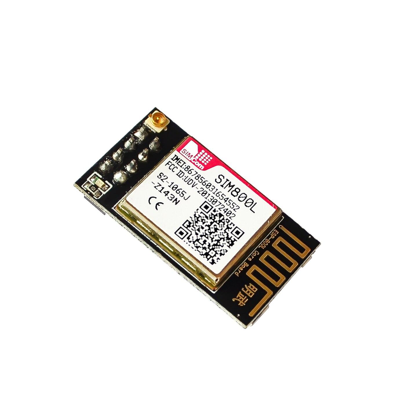 Sim800l ESP-800L núcleo de pino de ligação, esp8266 5v fonte de alimentação ttl uart