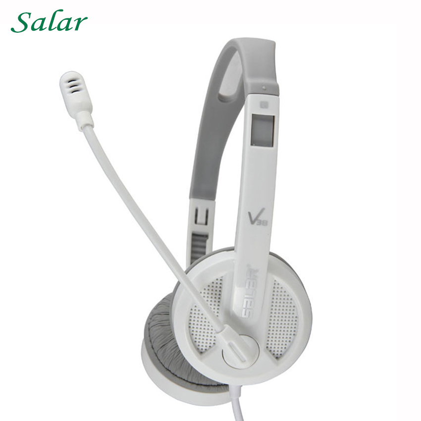 Portable Headphones With Microphone For Computer Laptop Gaming PS4 Sport Gamer Headset 3.5mm High Quality Headband Big Earphone laptop pc gaming headphone with microphone for ps4 xiomi xaomi laptop gamer big headset 3 5mm high quality earphone mp3 earpiece