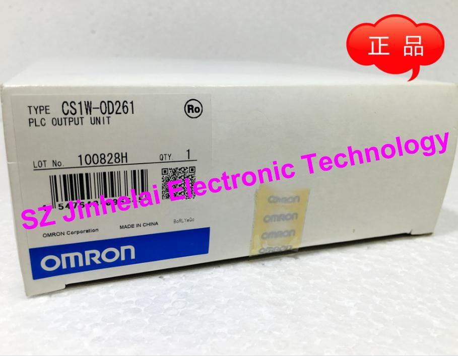 New and original OMRON CS1W-OD261  PLC OUTPUT UNIT [zob] new original omron omron beam photoelectric switch e3jk tr12 c 2m 2pcs lot
