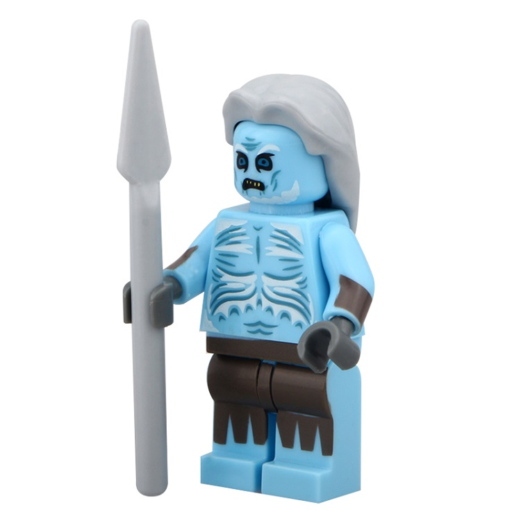 50Pcs PG939 White Walker Game of Thrones Super Heroes Ice and Fire Series Building Blocks Bricks Best Education Toys Children(China)