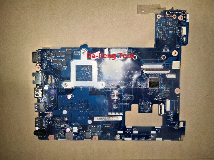 KEFU High Quality Motherboard For LENOVO G505 Laptop MOTHERBOARD VAWGA/GB LA-9912P With Cpu On Board Tested Fully Good Conditon