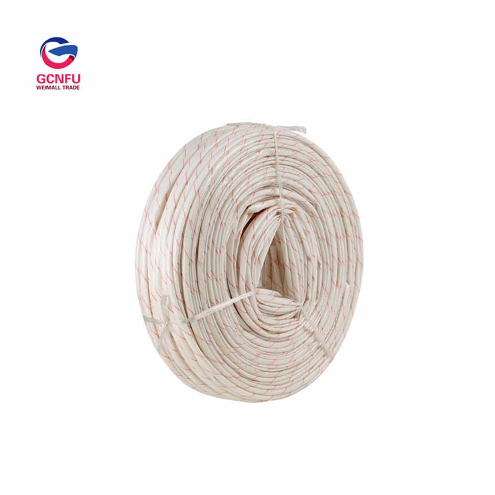 Wholesale 1M Thicker Fiberglass Sleeve Insulation Bushing High Temperature Resistant Wire Casing Yellow Wax Tube Flame retardant