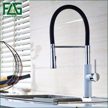 2016 Pull Out Kitchen Faucet Down Sink Swan Tap torneira cozinha Mixer